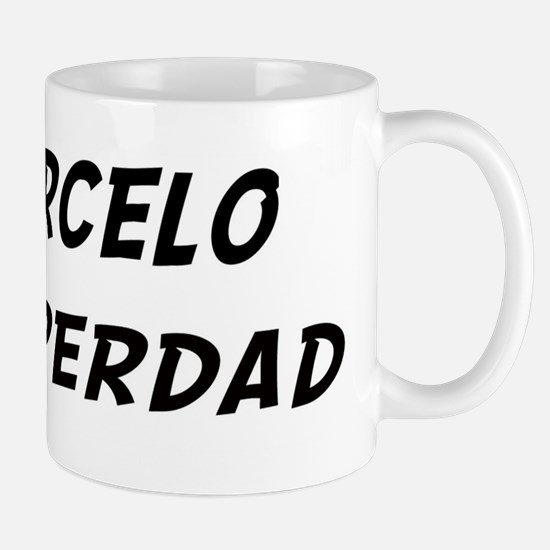 Marcelo is Superdad Mug