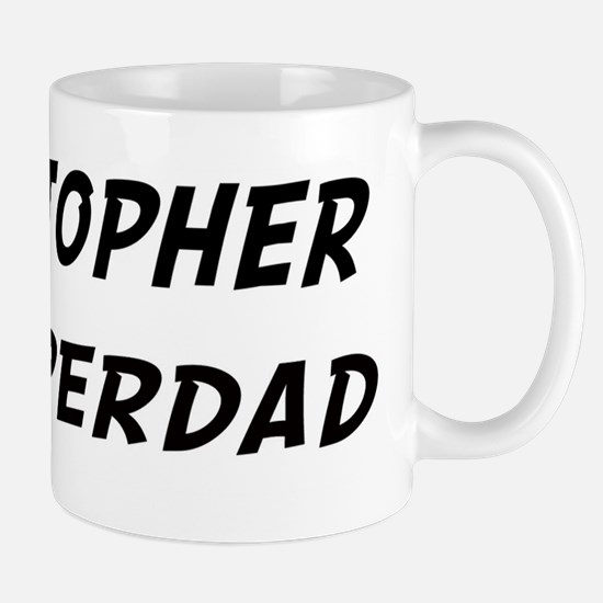 Kristopher is Superdad Mug
