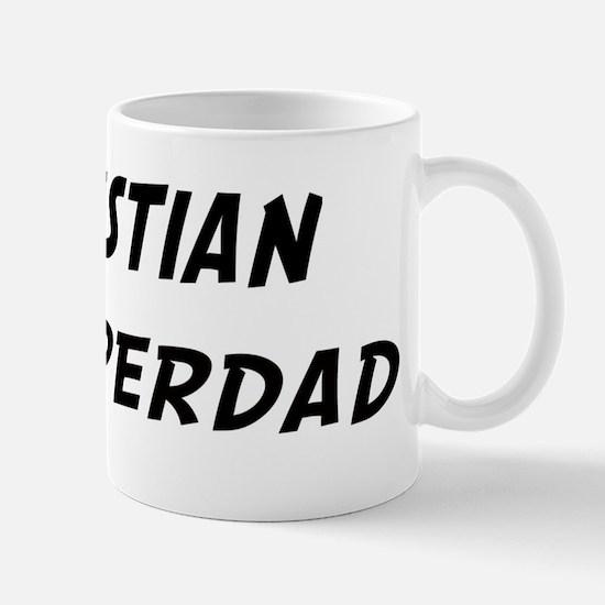 Kristian is Superdad Mug