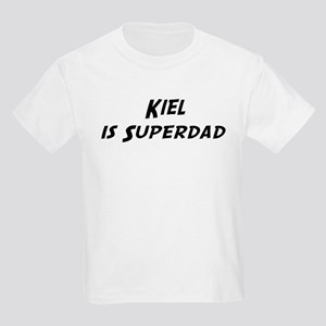 Kiel is Superdad Kids Light T-Shirt