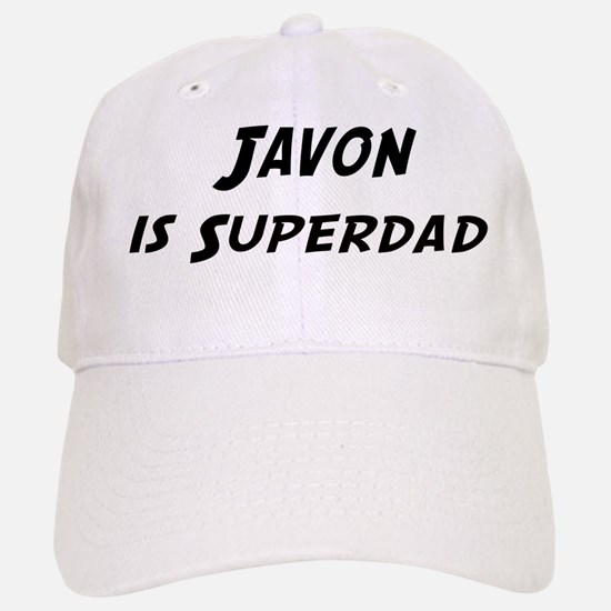 Javon is Superdad Baseball Baseball Cap