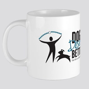 DDB Logo Bumper Sticker Art 20 oz Ceramic Mega Mug