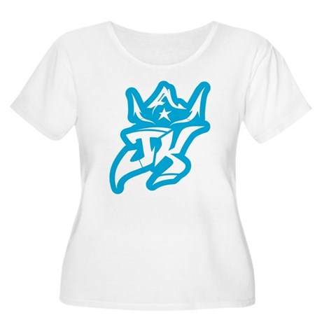 Jaya 7 Women's Plus Size Scoop Neck T-Shirt