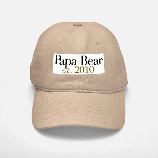 New Papa Bear 2010 Baseball Baseball Cap