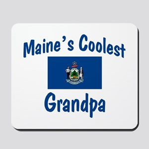 Coolest Maine Grandpa Mousepad