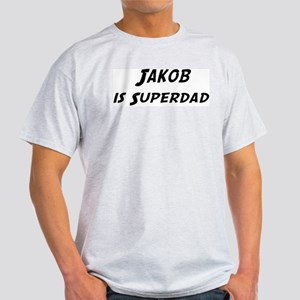 Jakob is Superdad Light T-Shirt