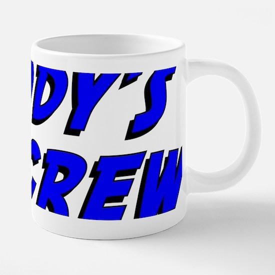 daddys_pit_crew.png 20 oz Ceramic Mega Mug