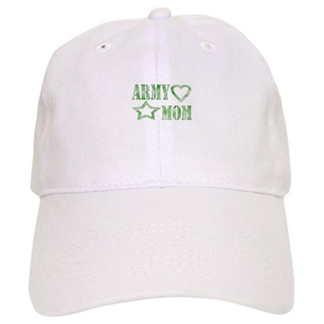 Army Mom Heart/Star Cap
