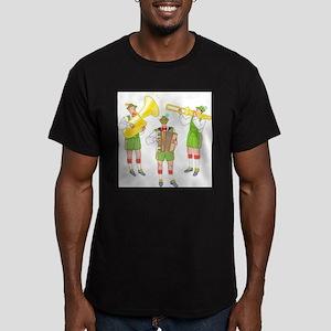 OKtoberfest Best Men's Fitted T-Shirt (dark)