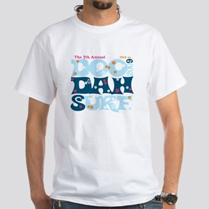 Doo Dah Surf 2009 White T-Shirt