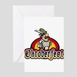 OKtoberfest Best Greeting Card