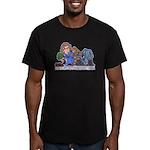 Silent Running Men's Fitted T-Shirt (dark)
