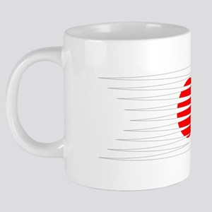 FootballDesign JAPAN Black. 20 oz Ceramic Mega Mug