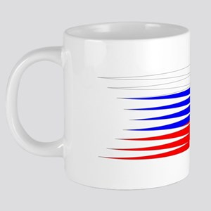 FootballDesign RUSSIA White 20 oz Ceramic Mega Mug