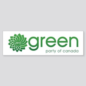 Green Party 2015 Sticker (Bumper)