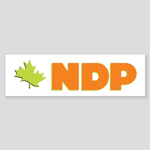 NDP Bumper Sticker