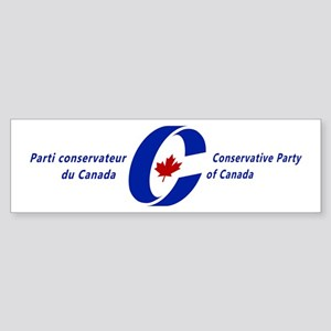 Conservative Party Bumper Sticker