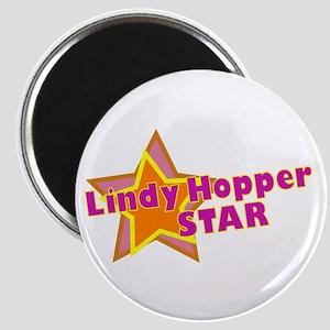 Lindy Hopper Star Magnet