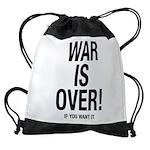 War is Over Drawstring Bag