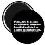 Andrew Jackson Quote Magnet