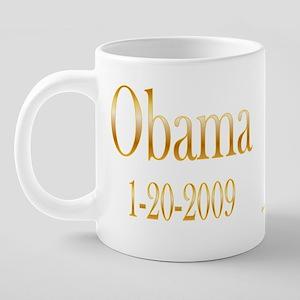 Obama 1-20 mug wht 20 oz Ceramic Mega Mug