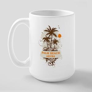Palm Beach Aruba Large Mug