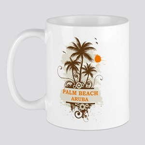 Palm Beach Aruba Mug