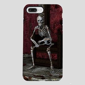 Gothic Waiting Skeleton iPhone 7 Plus Tough Case