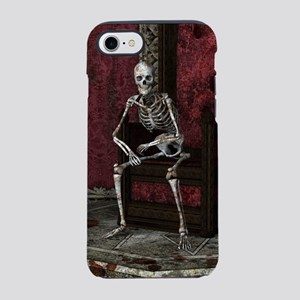 Gothic Waiting Skeleton iPhone 7 Tough Case
