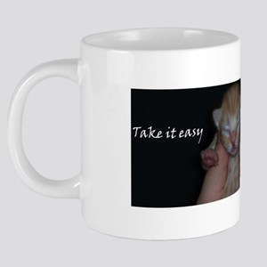 Take it easy 20 oz Ceramic Mega Mug