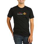 I Love Sourdou Organic Men's Fitted T-Shirt (dark)