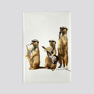 Meerkat Trio2 Rectangle Magnet (10 pack)