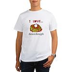 I Love Sourdough Organic Men's T-Shirt