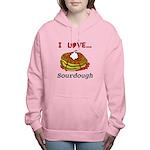 I Love Sourdough Women's Hooded Sweatshirt