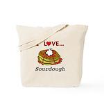 I Love Sourdough Tote Bag
