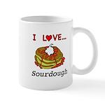 I Love Sourdough 11 oz Ceramic Mug