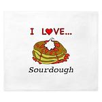 I Love Sourdough King Duvet