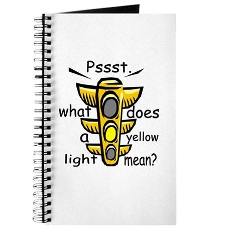 what does a yellow light mean journal by unclegear