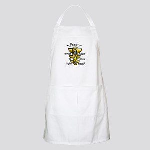 What Does A Yellow Light Mean BBQ Apron