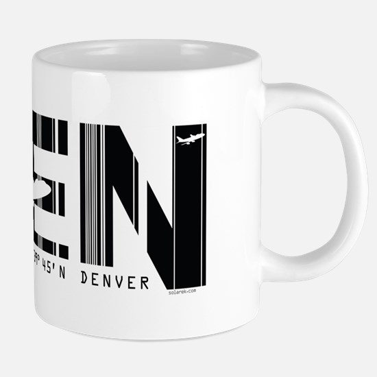Denver 1 20 oz Ceramic Mega Mug