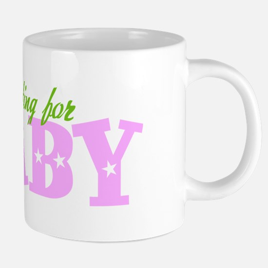 waiting-for-baby-dark.png 20 oz Ceramic Mega Mug