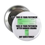 "Your Paycheck 2.25"" Button"