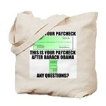 Your Paycheck Tote Bag