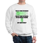 Your Paycheck Sweatshirt