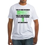 Your Paycheck Fitted T-Shirt