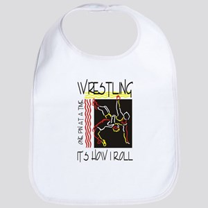 That's How I Roll Wrestling Bib