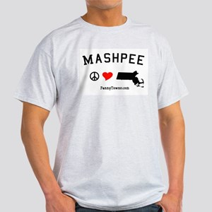 Mashpee MA Tees - Funny Towns Light T-Shirt