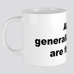 generalizations-bow 20 oz Ceramic Mega Mug