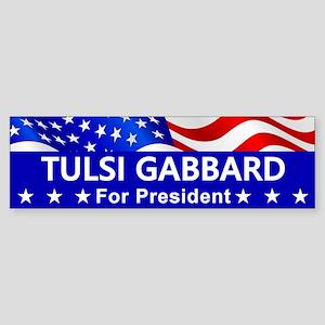 Tulsi Gabbard For President Bumper Sticker