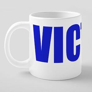victim 20 oz Ceramic Mega Mug
